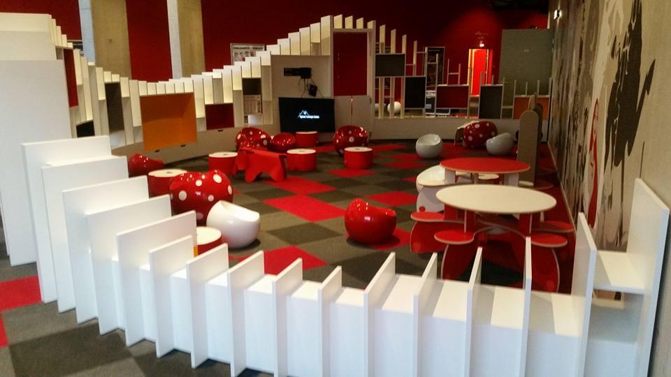 Brouillet Production CineMob Réalisation d'un espace enfants Cap cinéma Nîmes